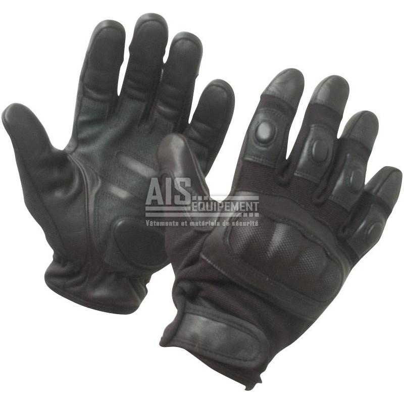 Gants anti coupure noirs coqu s opex gans25 equipement arm e police gendarmerie magasin - Gant anti coupure ...